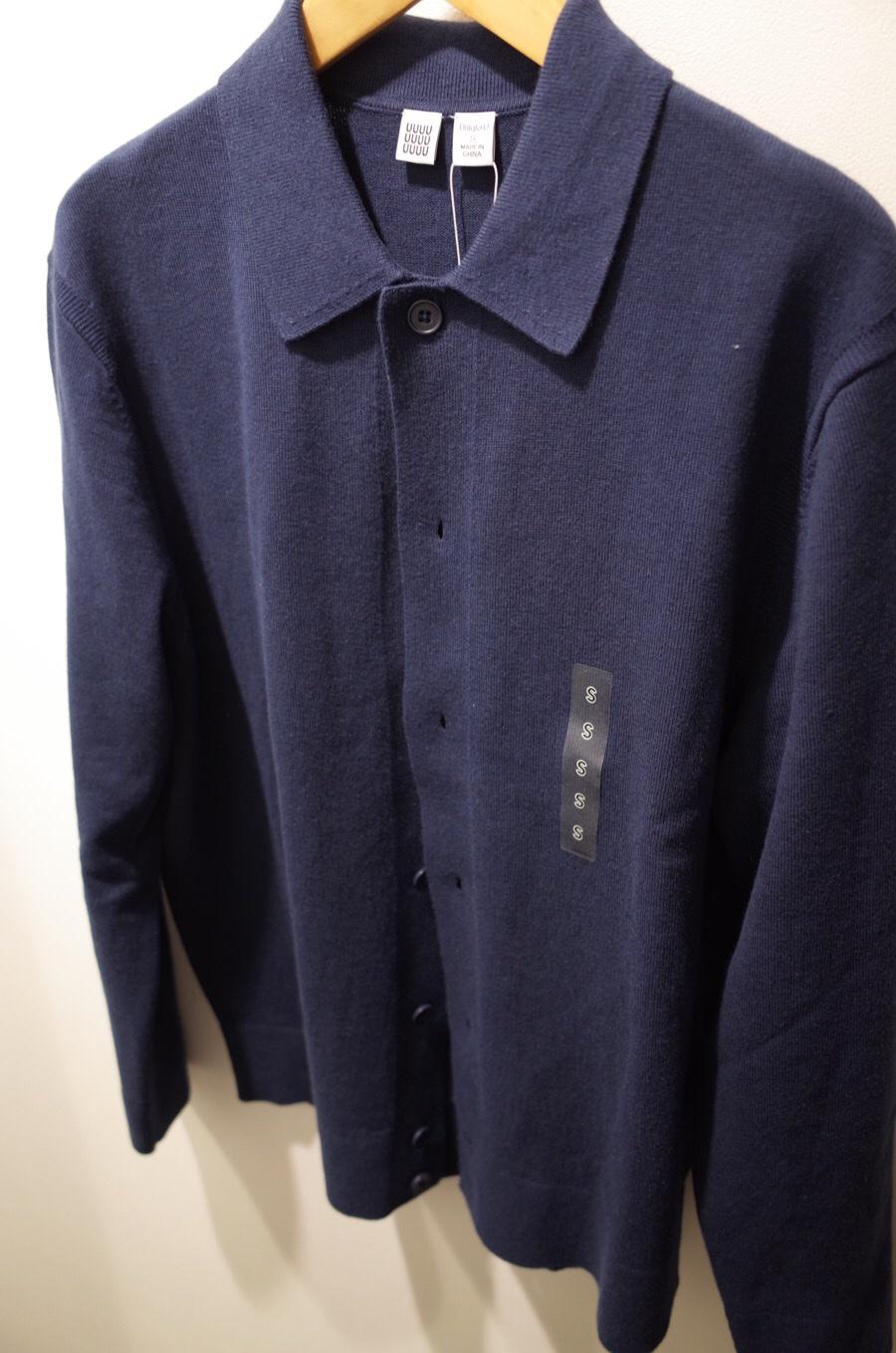 コットンカシミヤカーディガン(長袖)+E写真①