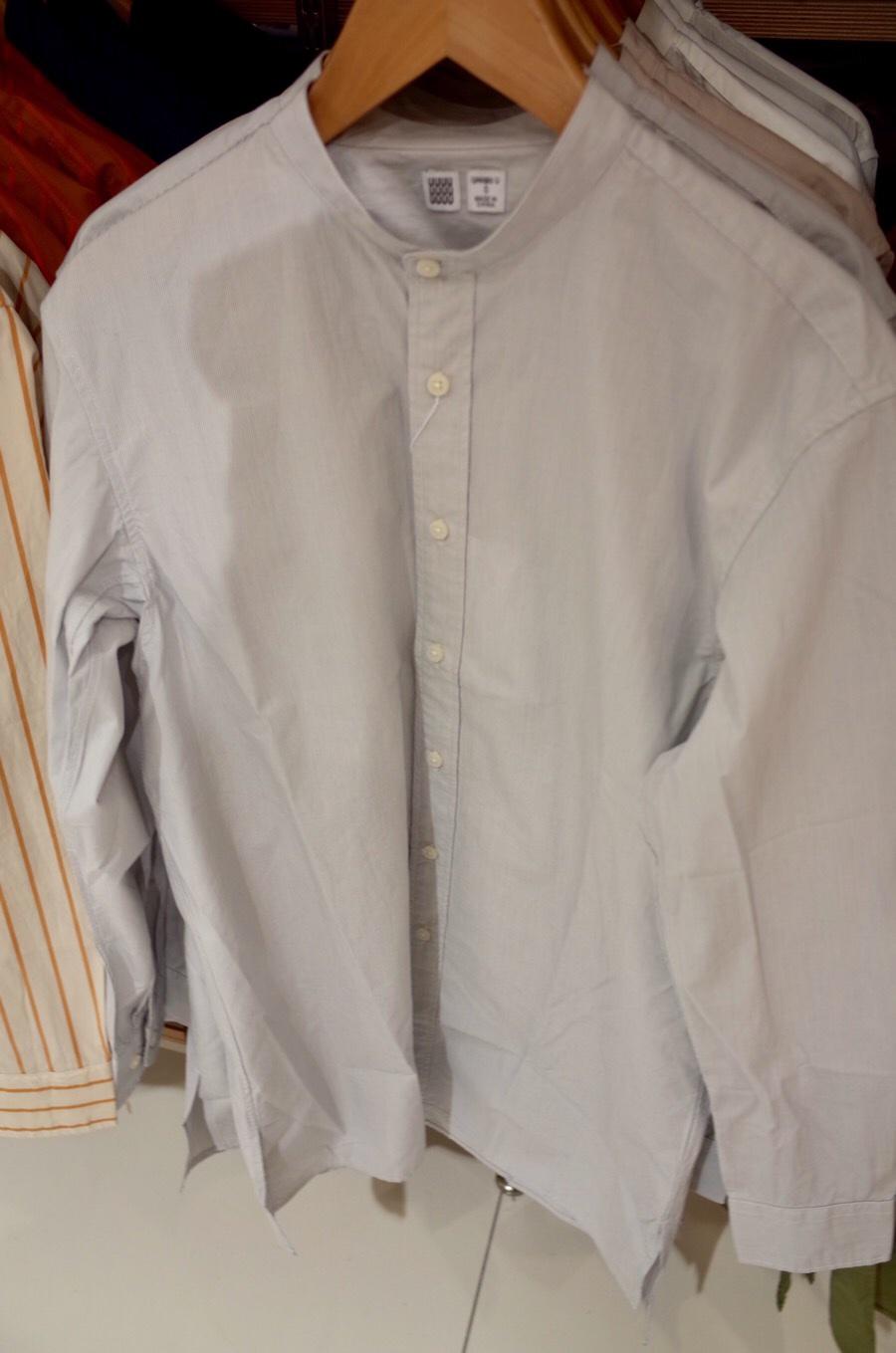 スタンドカラーシャツ(長袖)+E写真④