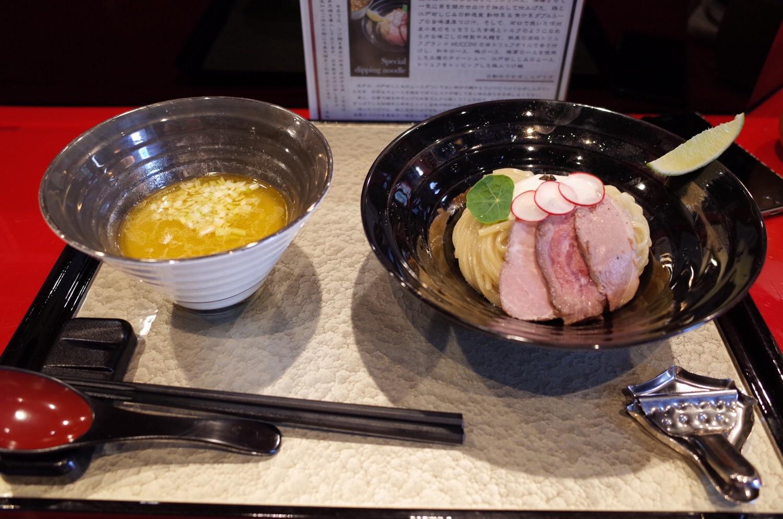 魄瑛(はくえい)特製つけ麺写真