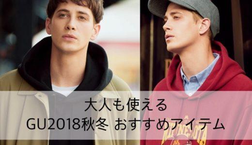 【レビュー】2018AW 大人も使えるGUのおすすめメンズ秋冬物はコレ!