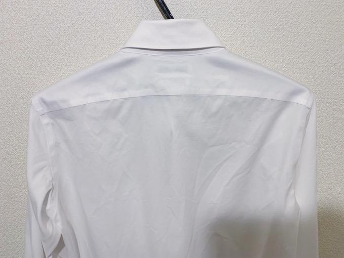 スーパーノンアイロンシャツ 洗濯後