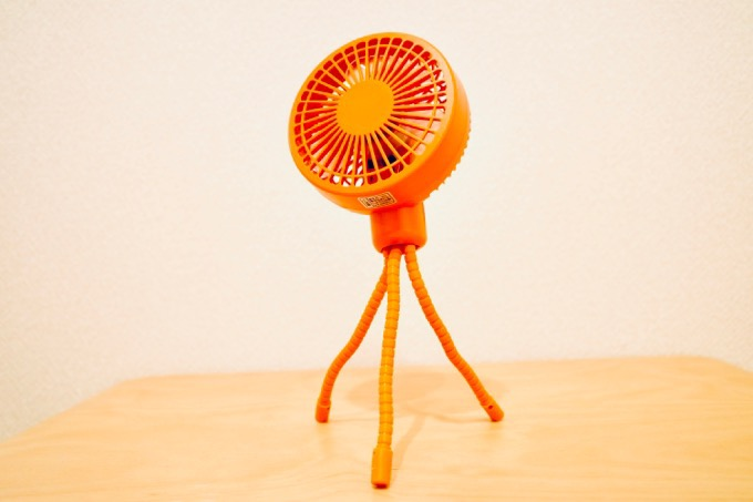 ハンディ扇風機