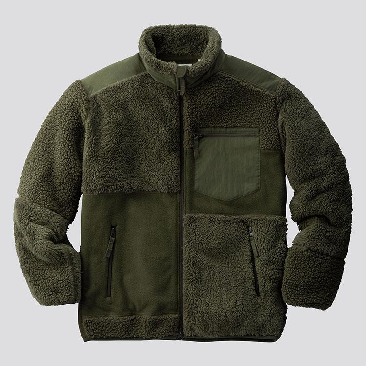 フリースコンビネーションジャケット