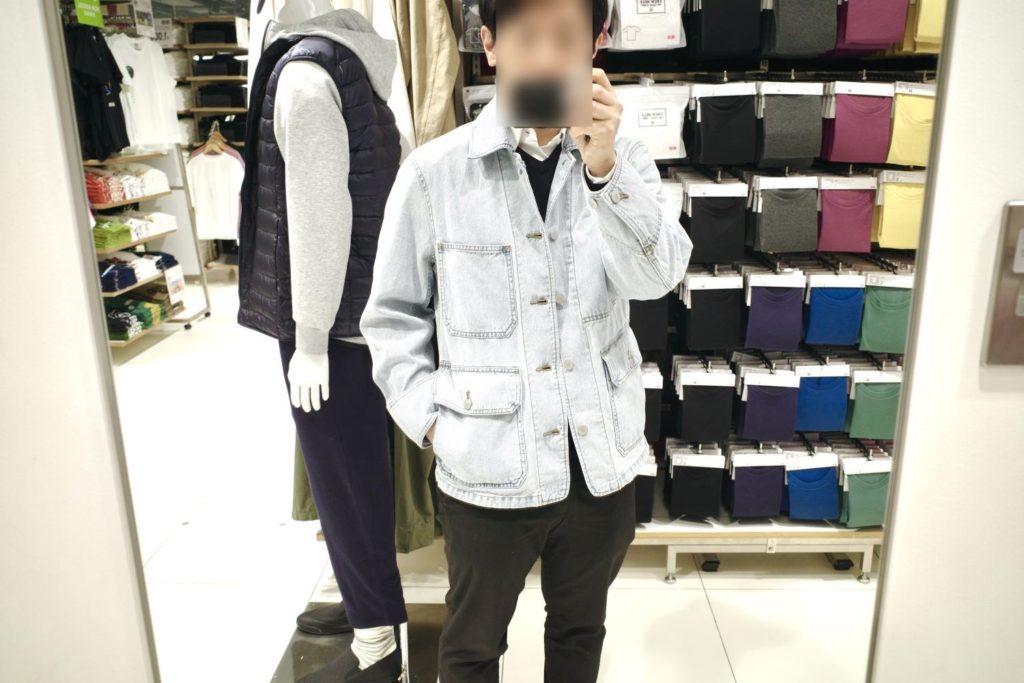 デニムワークジャケット