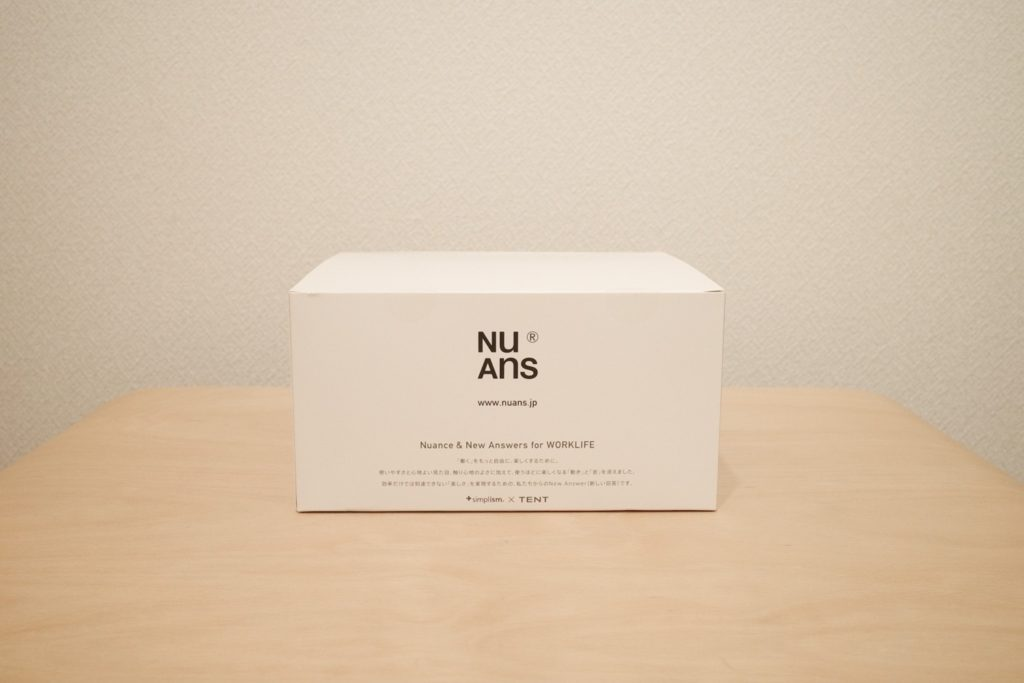 NuAns COLONY(ニュアンス コロニー)  外箱