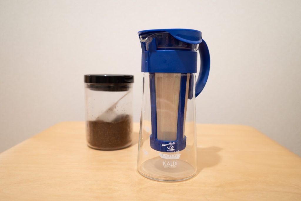 カルディ ハリオ 水出しコーヒーポット