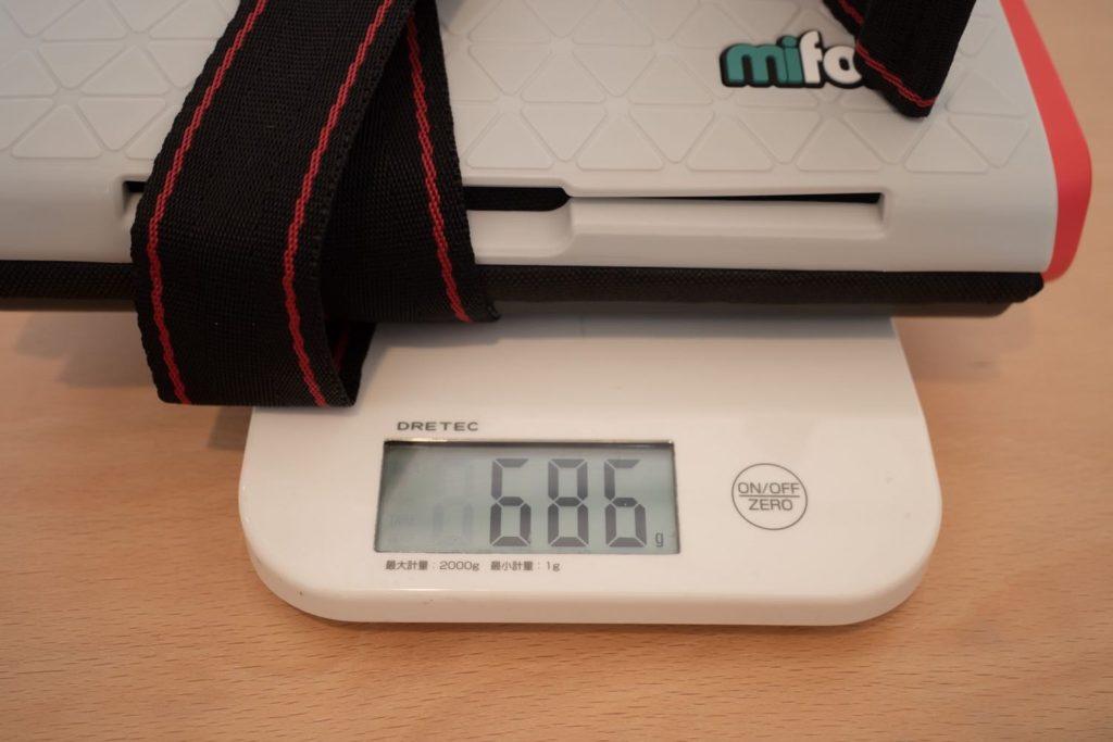 mifold 重量
